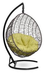 фото Подвесное кресло-кокон MALAGA коричневое + каркас