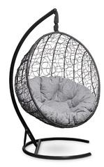 фото Подвесное кресло-кокон MALAGA черное + каркас