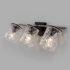фото Настенный светильник с поворотными плафонами 20095/3 черный/золото
