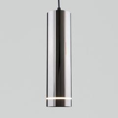 фото Подвесной светодиодный светильник DLR023 12W 4200K Черный жемчуг