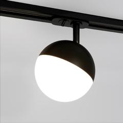 фото Трековый светодиодный светильник для однофазного шинопровода Glob GX53 Черный Glob GX53 Черный (MRL 1015) однофазный