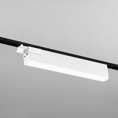 фото Трековый светодиодный светильник для однофазного шинопровода X-Line белый матовый X-Line белый матовый 28W 4200K (LTB55) трехфазный
