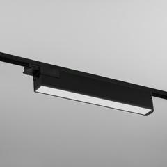 фото Трековый светодиодный светильник для однофазного шинопровода X-Line черный матовый X-Line черный матовый 28W 4200K (LTB55) трехфазный