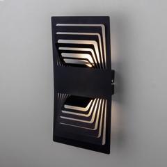 фото Onda LED чёрный настенный светодиодный светильник MRL LED 1025