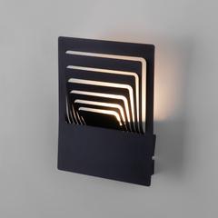 фото Onda LED чёрный  настенный светодиодный светильник MRL LED 1024