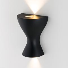 фото Eos LED чёрный настенный светодиодный светильник MRL LED 1021