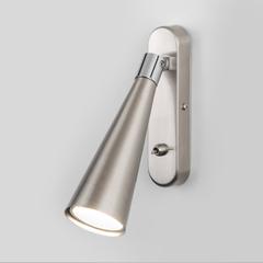 фото Horn GU10 SW сатинированный никель настенный светильник MRL 1010