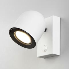 фото Ogma GU10 SW белый настенный светильник MRL 1009
