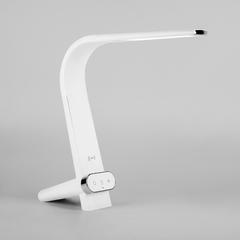 фото Светодиодная настольная лампа с беспроводной зарядкой 80427/1 белый