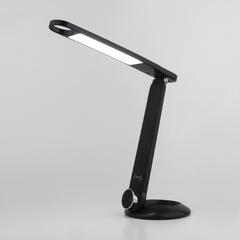 фото Светодиодная настольная лампа с беспроводной зарядкой 80428/1 черный