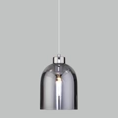фото Подвесной светильник со стеклянным плафоном 50119/1 никель