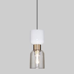 фото Подвесной светильник со стеклянным плафоном 50118/1 латунь