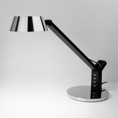 фото Светодиодная настольная лампа с сенсорным управлением 80426/1 черный/серебро