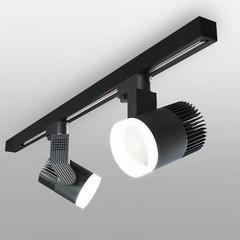 фото Светильник потолочный светодиодный Accord Черный 20W 4200K LTB36