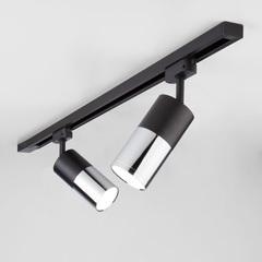 фото Светильник потолочный светодиодный Avantag Черный матовый/хром 6W 4200K LTB27