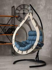 фото Подвесное кресло-кокон SEMERA цвет Туманый лес