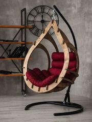 фото Подвесное кресло-кокон SEMERA цвет Орех