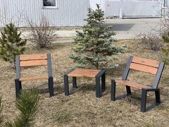 фото Комплект уличной мебели «Street Cafe Stone» 740