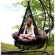 """Фото №3 Подвесное кресло - гамак """"ARENAL"""" с подушками (черный)"""