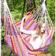 """Фото №3 Кресло - гамак """"Karolina"""" розовый (Колумбия)"""