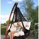 Фото №8 Кресло - гамак CARTAGENA черный