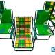 Фото №5 Кресло складное «Фольварк» с матрасом 1 см
