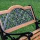 Фото №10 Скамейка садовая Арабеска