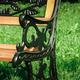 Фото №7 Скамейка садовая ЛИЛИЯ