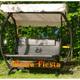 Фото №3 Подвесные садовые качели WAVE