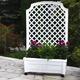 Фото №2 Ящик для растений с шпалерой на колёсах «Калипсо» 37301