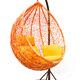 Фото №5 Плетеные качели KVIMOL KM 0001 большая корзина ORANGE