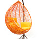 Фото №5 Плетеные качели KVIMOL KM 0001 средняя корзина DARK