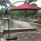Фото №4 Садовый зонт A005