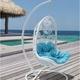 Фото №2 Подвесное кресло Flowers + каркас