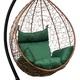 Фото №4 Подвесное кресло-кокон SEVILLA горячий шоколад + каркас