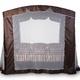 Фото №13 Тент-шатер для садовых качелей (с дугообразной крышей)