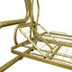 Фото №5 Качели садовые Золотая корона (76 труба)