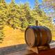 Фото №4 Дубовая бочка 15 литров (Колотый дуб) + кран