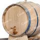 Фото №2 Дубовая бочка 10 литров (Колотый дуб)