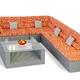 Фото №3 Комплект мебели для отдыха МЕРИБЕЛЬ (угловой)