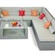 Фото №6 Комплект мебели для отдыха МЕРИБЕЛЬ (угловой)