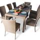 Фото №4 Обеденный комплект со стульями КАПРИ