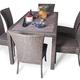 Фото №2 Обеденный комплект со стульями КРИТ