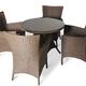 Фото №2 Обеденный комплект с креслами на 4 человека (круглый стол)