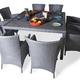 Фото №2 Обеденный комплект с креслами (квадратный стол) КАПРИ