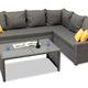 Фото №6 Комплект мебели ФИДЖИ угловой со столом