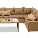 Фото №2 Комплект мебели ФИДЖИ угловой со столом