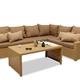 Фото №3 Комплект мебели ФИДЖИ угловой со столом