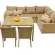 Фото №3 Комплект мебели ФИДЖИ угловой со столом и стульями