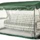 Фото №4 Тент крыша + москитная сетка для садовых качелей Дефа Люси